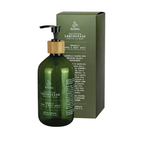 Urban Rituelle - Flourish - Organic Hand & Body Wash 500ml - Lemongrass Blend
