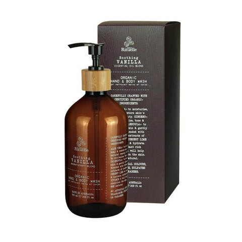 Urban Rituelle - Flourish - Organic Hand & Body Wash 500ml - Vanilla Blend - Urban Rituelle - Oscura - Bath, Body & Home Fragrance