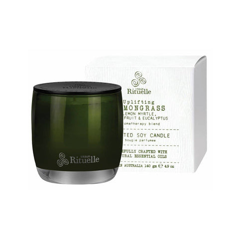 Urban Rituelle - Flourish - Scented Soy Candle 140g - Lemongrass Blend