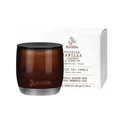 Urban Rituelle - Flourish - Scented Soy Candle 140g - Vanilla Blend