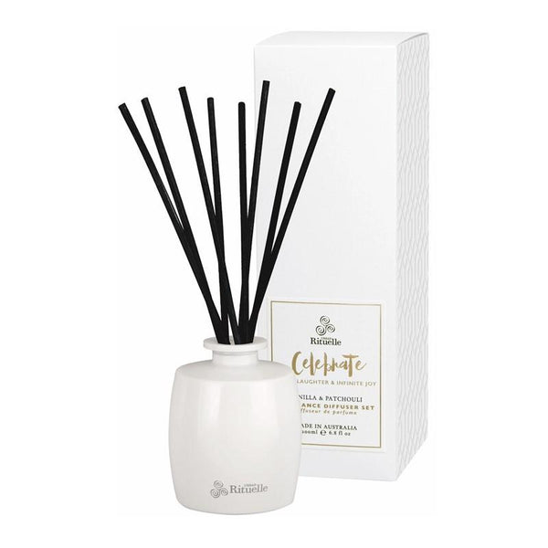 Urban Rituelle - Scented Offerings - Celebrate - Fragrance Diffuser Set 200ml - Vanilla & Patchouli