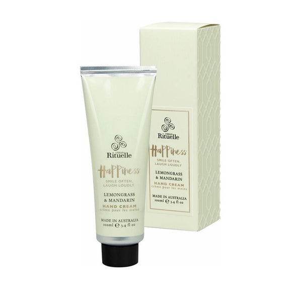 Urban Rituelle - Scented Offerings - Happiness - Hand Cream 100ml - Lemongrass & Mandarin