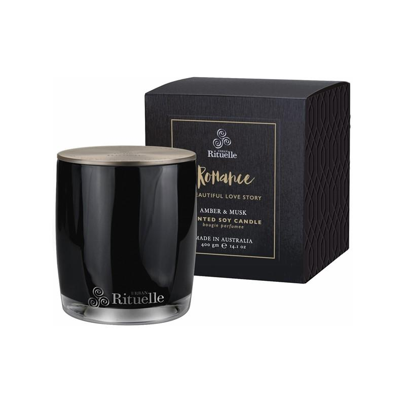 Urban Rituelle - Scented Offerings - Romance - Scented Soy Candle 400g - Amber & Musk