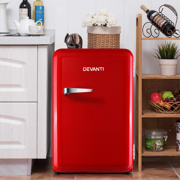 Devanti Retro 70L Bar Fridge