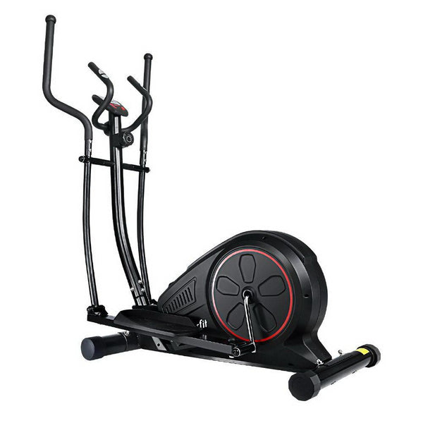 Everfit Elliptical Cross Trainer Exercise Bike Fitness Equipment Home Gym Black