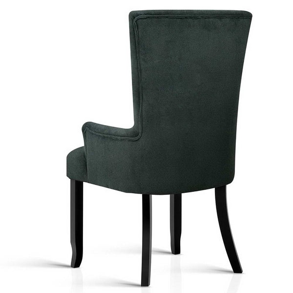 Artiss French Provincial Dining Chair - Grey