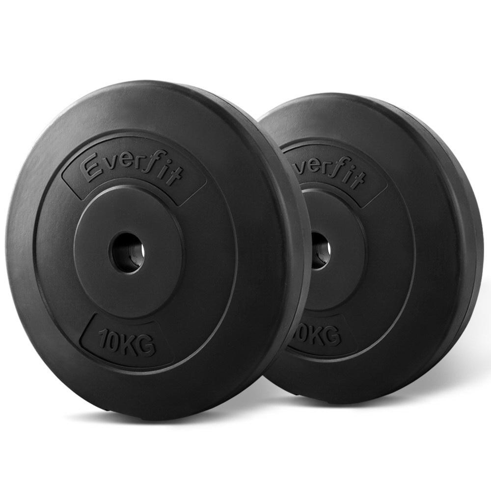 Everfit Home Gym Weight Plate 2 x 10KG