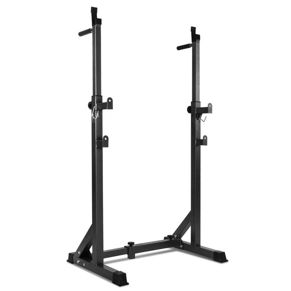 Everfit Squat Rack Pair Fitness Weight Lifting Gym Exercise Barbell Stand