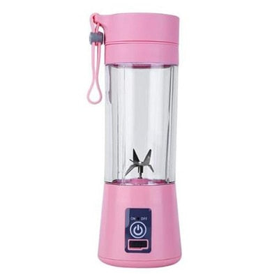 380ml Portable Electric Juice Blender with USB Recharger