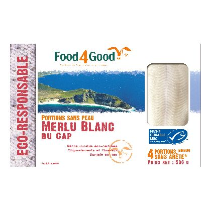 FILETS DE MERLU MSC 500G