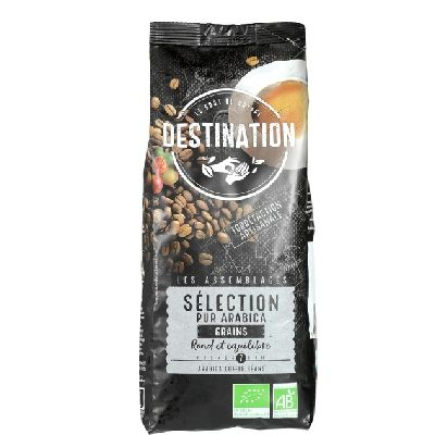 CAFE 100% ARABICAS GRAIN 1KG