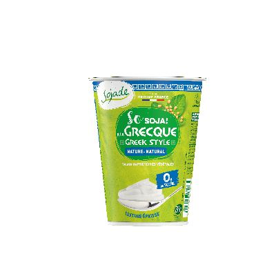 SO SOJA NATURE GRECQUE 400G