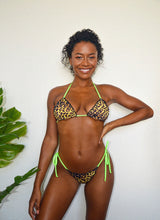 Load image into Gallery viewer, IPANEMA CHEETAH + NEON GREEN TOP