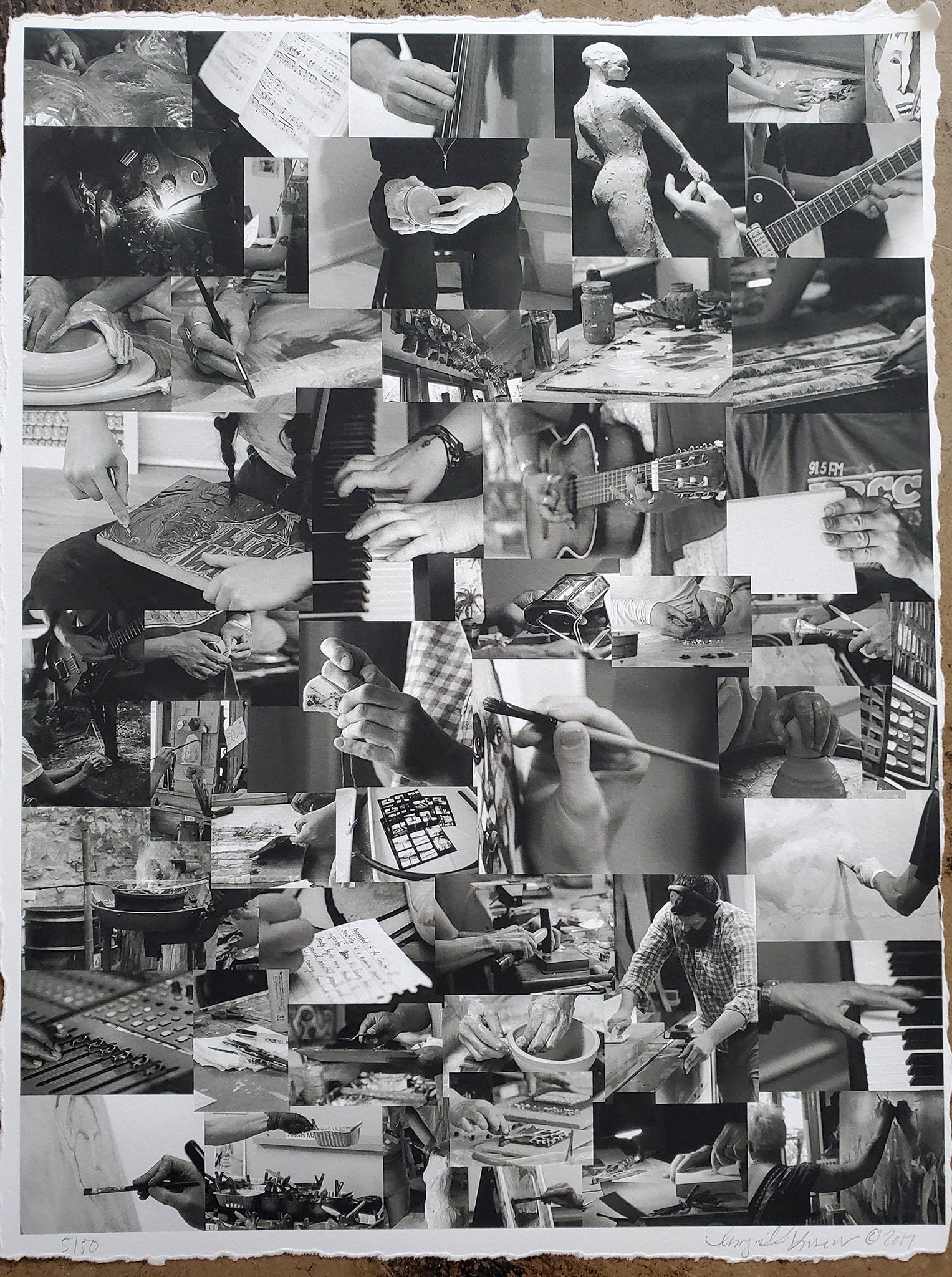 Lucere Collage: Working Hands