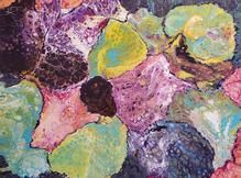 "Complexity - 48""x 36"" poured acrylic by Madeline Tormoen"