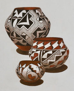 Three Acoma Jars