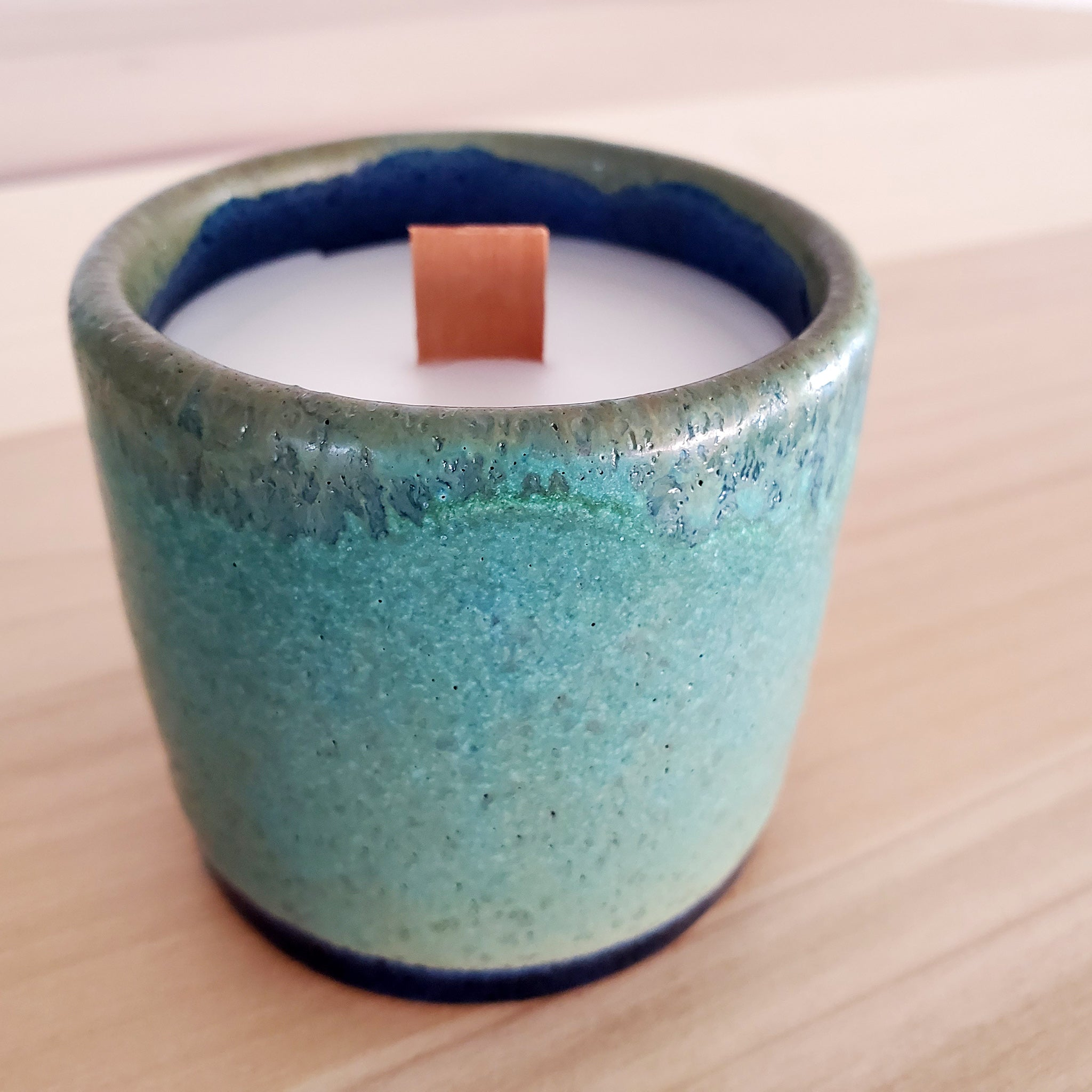 MaD Wax Pottery Candles- Cucumber Mint