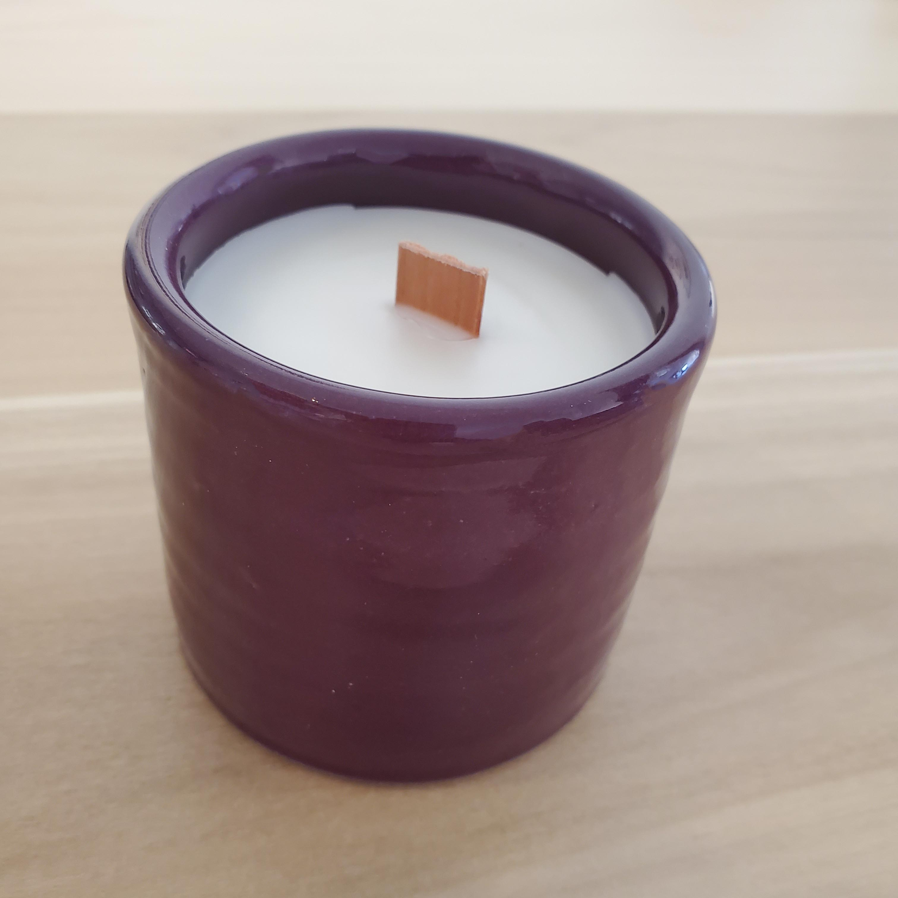 MaD Wax Pottery Candles- Cranberry Spice