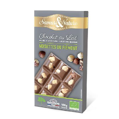 TABLETTE LAIT NOISETTE 100G
