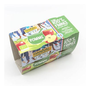 Fruits Pomme Nature 4X100G
