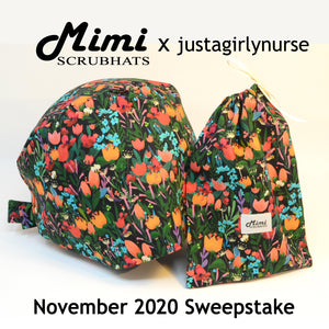 MimiScrubHats November 2020 Sweepstake