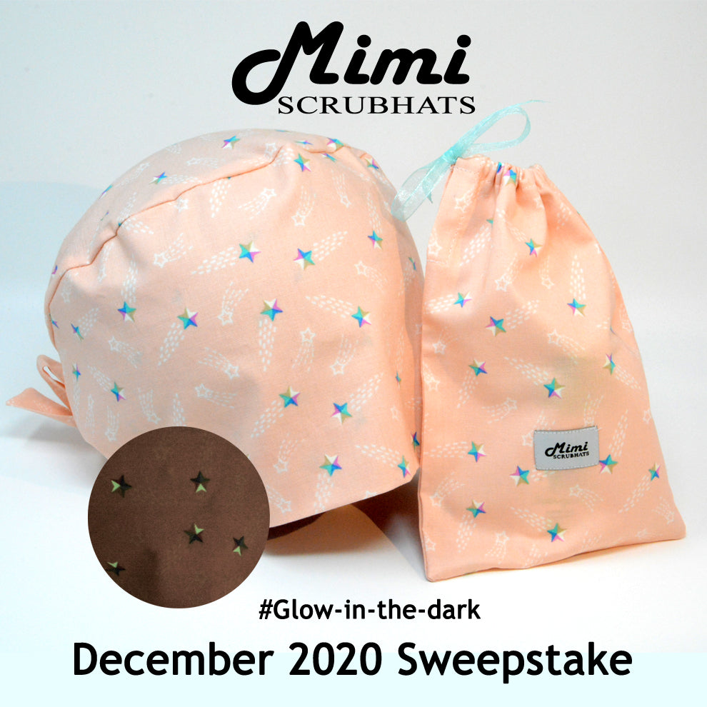 MimiScrubHats December 2020 Sweepstake