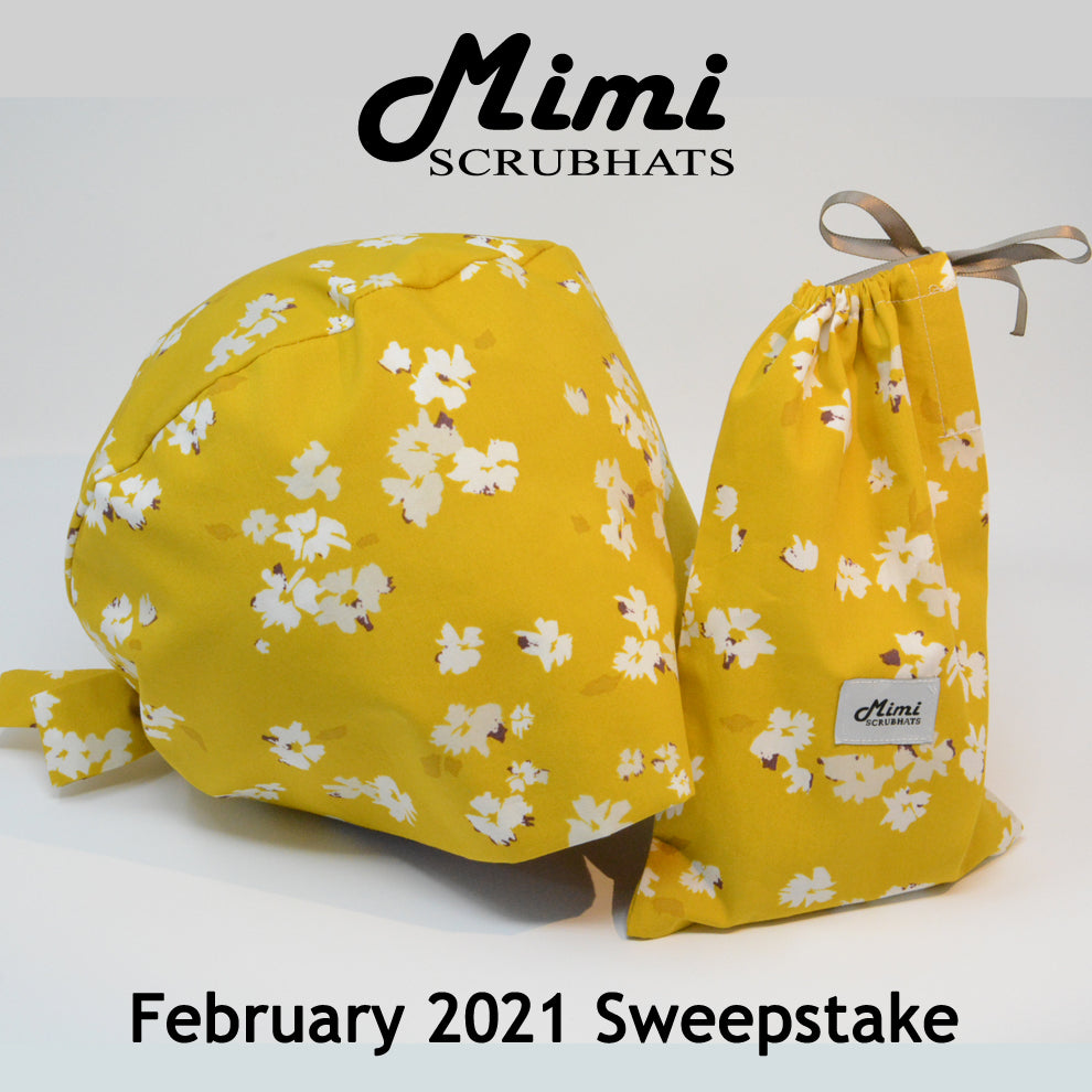 MimiScrubHats February 2021 Sweepstake