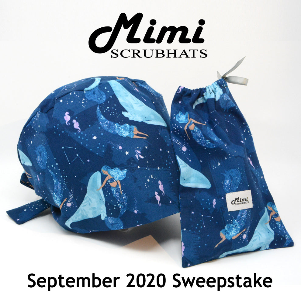 MimiScrubHats September 2020 Sweepstake