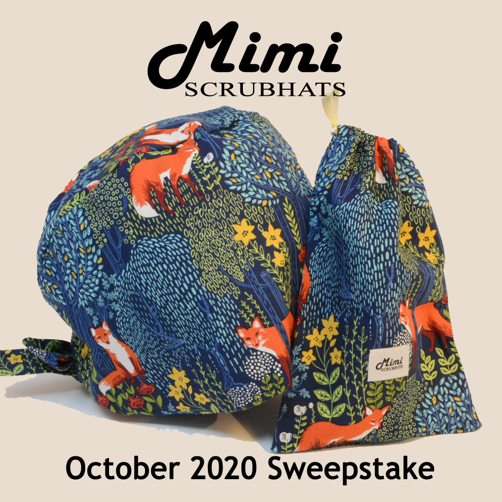 MimiScrubHats October 2020 Sweepstake