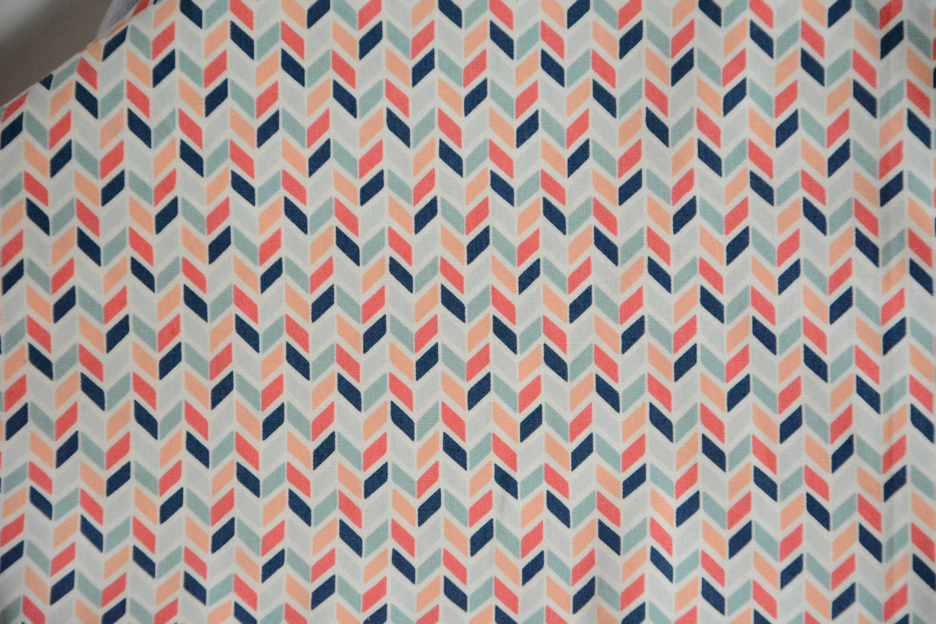 Pink and Blue Chevron