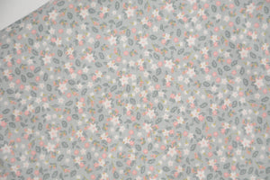 Petite Flowers on Light Grey