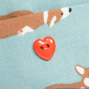 Add-on Heart Shape Button - Valentine's Day Special