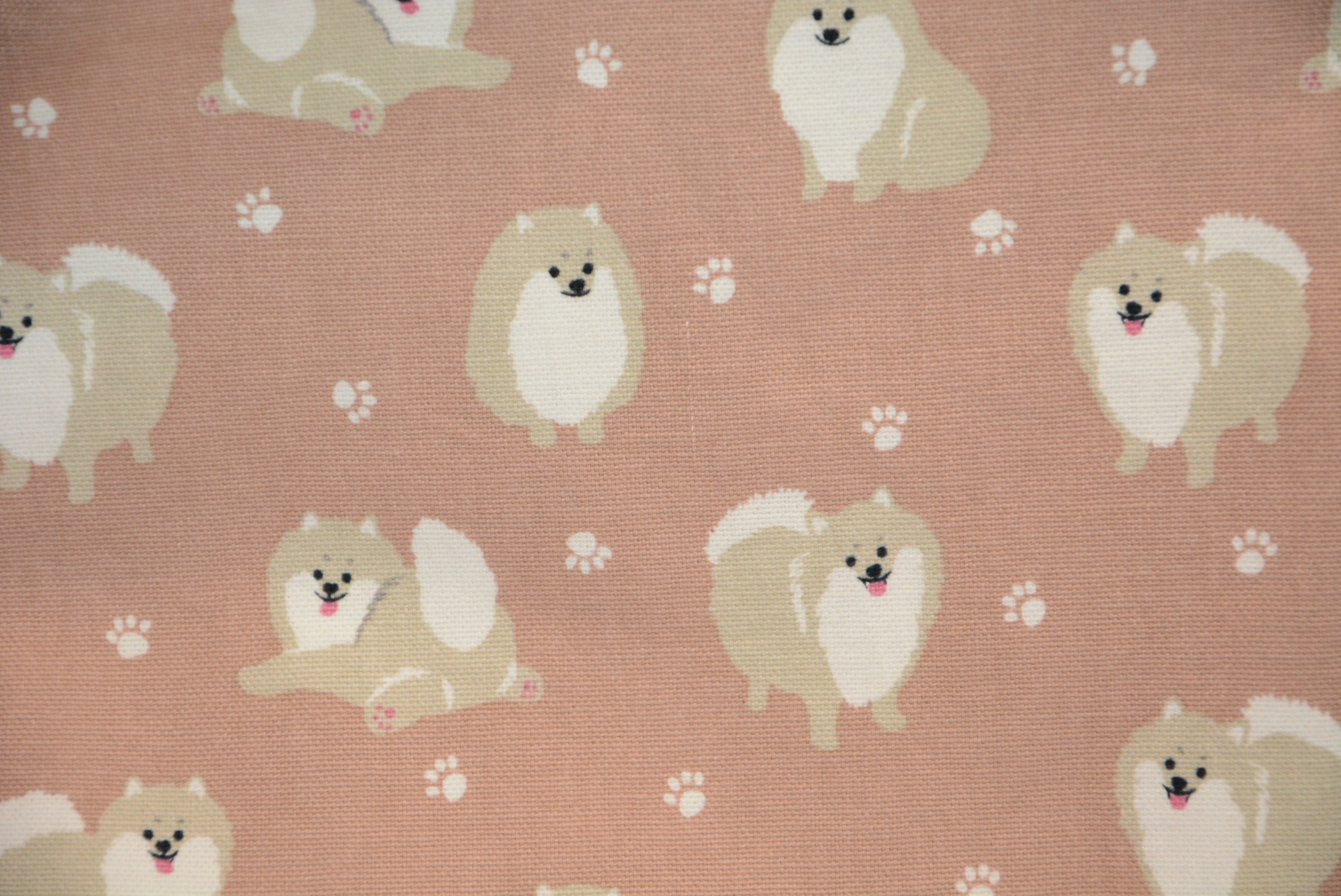 Fluffy - *Cotton Linen Fabric*