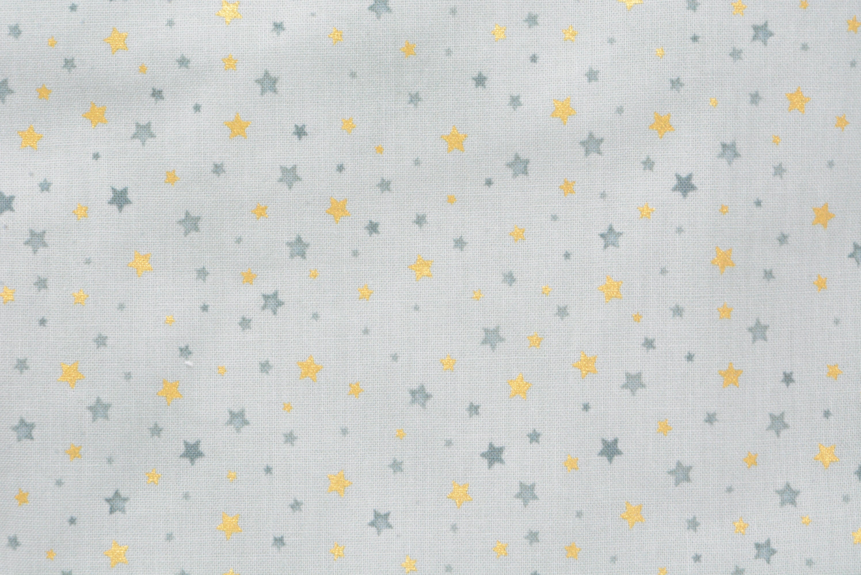 Petite Stars on Sage with *Gold Print*