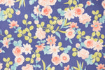 Load image into Gallery viewer, Mixed Floral on Royal Blue