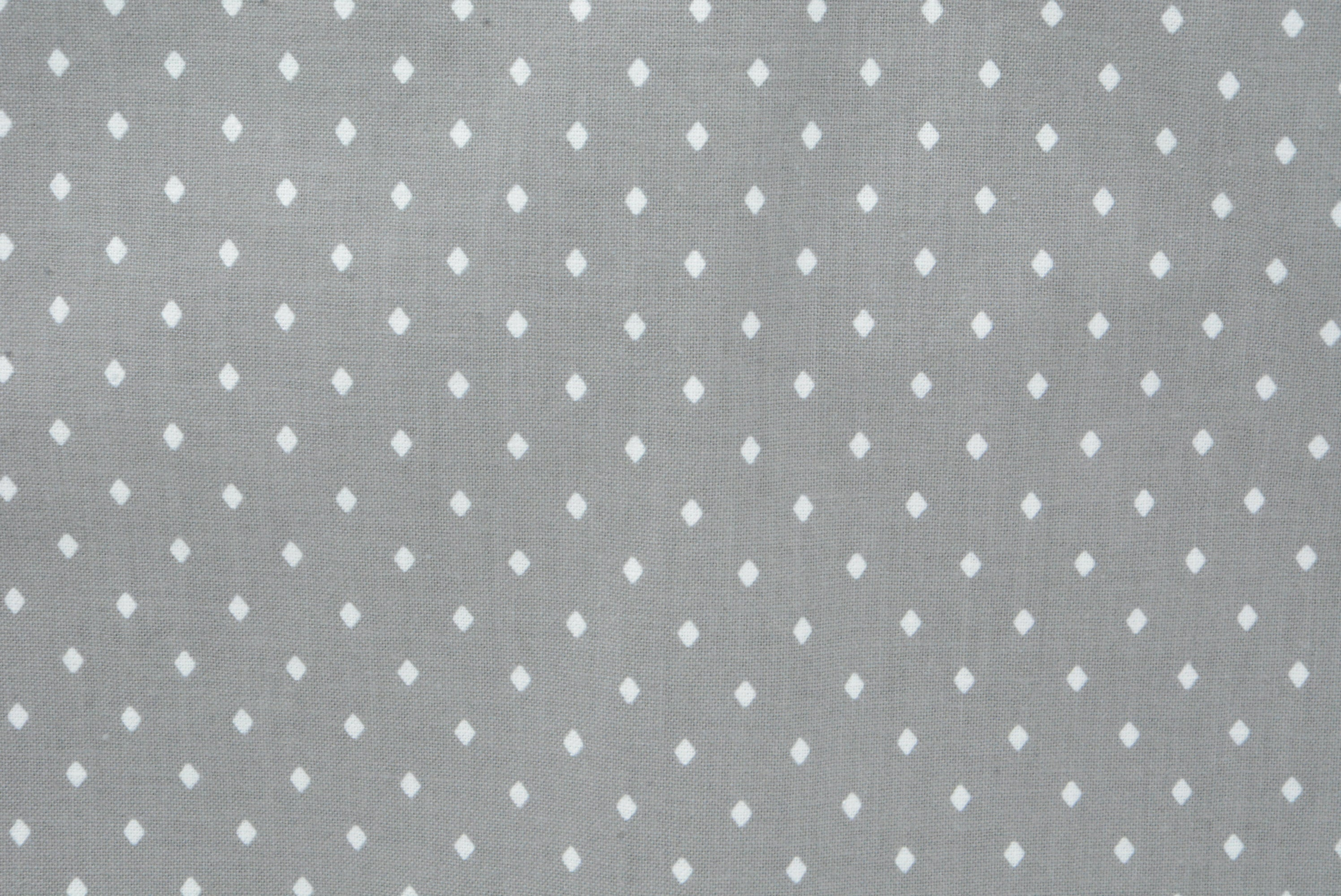 Diamond Polka Dots on Gray