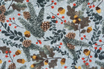 Load image into Gallery viewer, Christmas Frosted Mistletoe Pine and Acorn