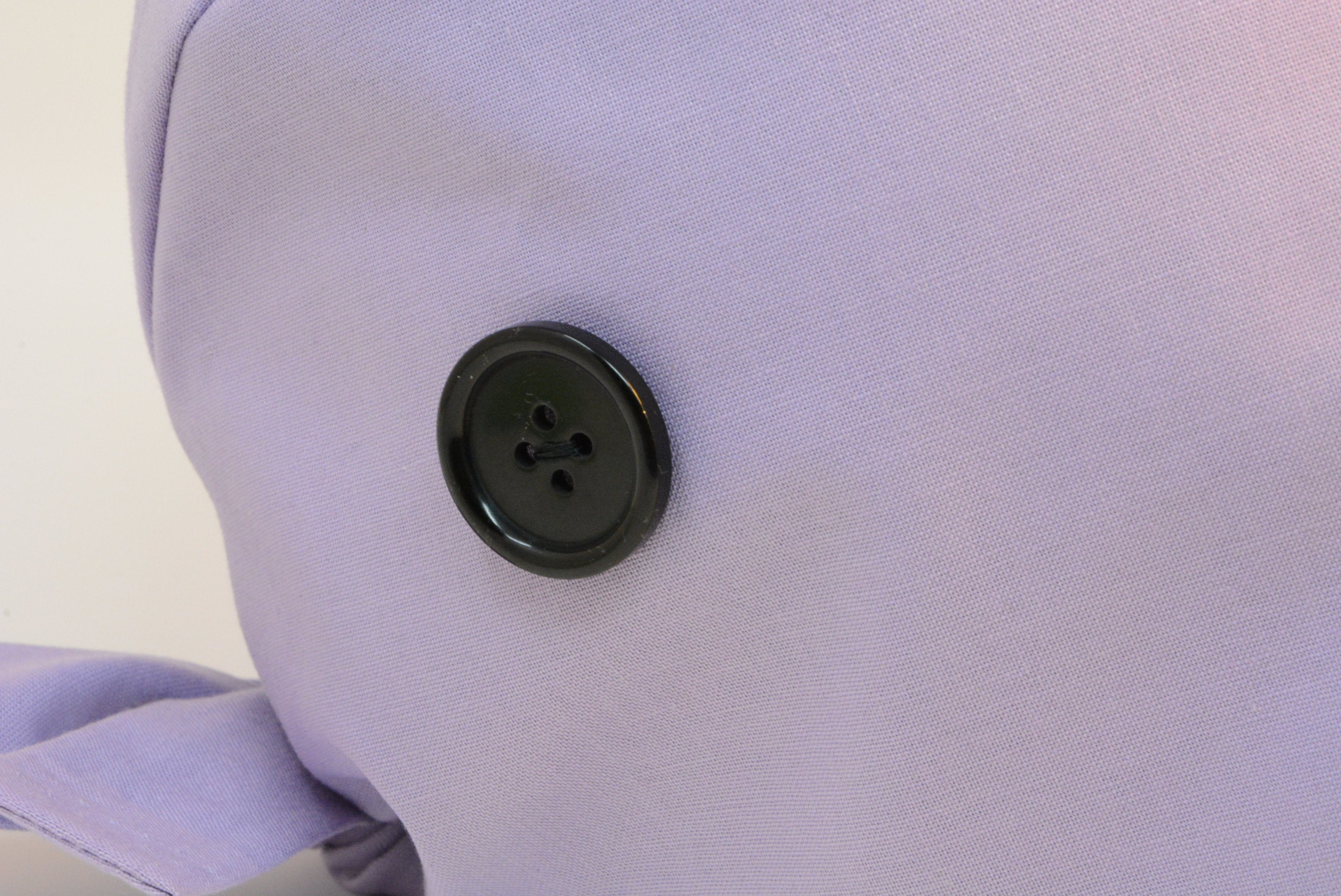 Black Button Add-on for Scrub Cap