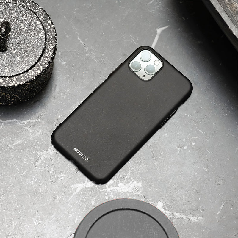 "Dünne iPhone 11 6,1"" Hülle V2  - Stealth Black"