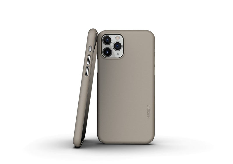 Nudient - Dünne iPhone 11 Pro Hülle V3 - Clay Beige