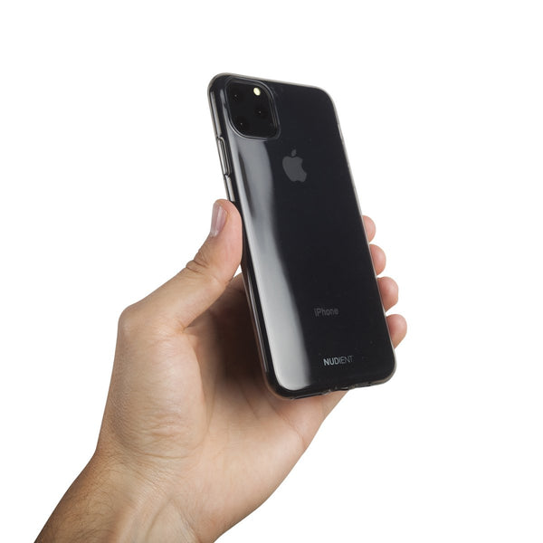 "Dünne Transparent iPhone 11 Pro Max 6,5"" Hülle - Black Transparent"