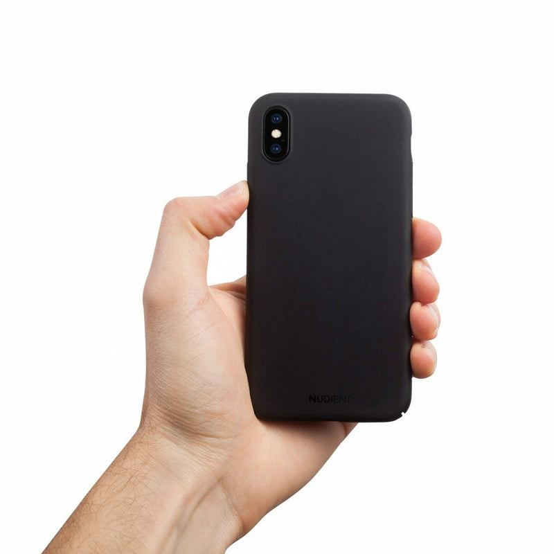Dünne iPhone XS Hülle V2 - Stealth Black