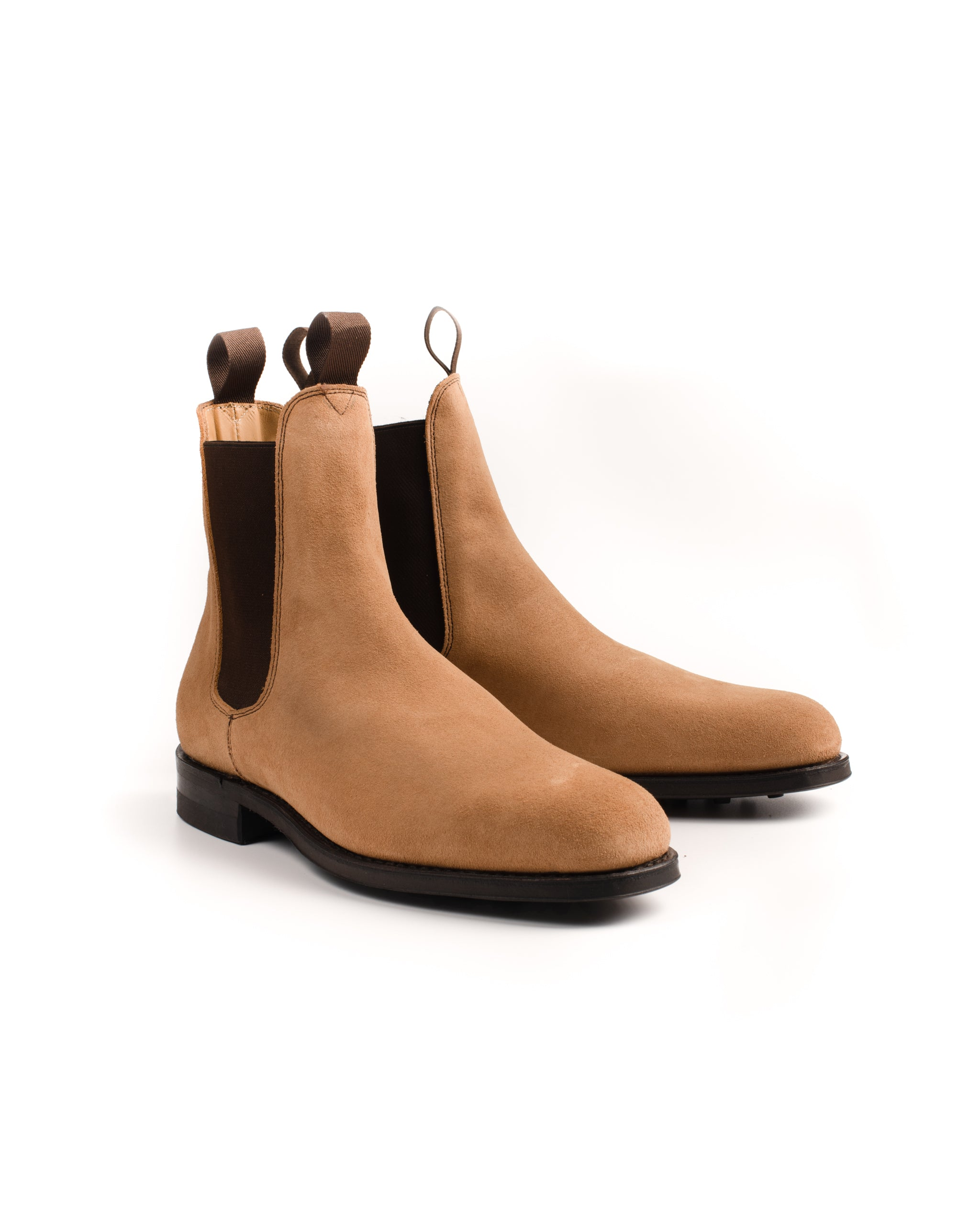 Chelsea Boot // Suede // Camel // Dainite Sohle