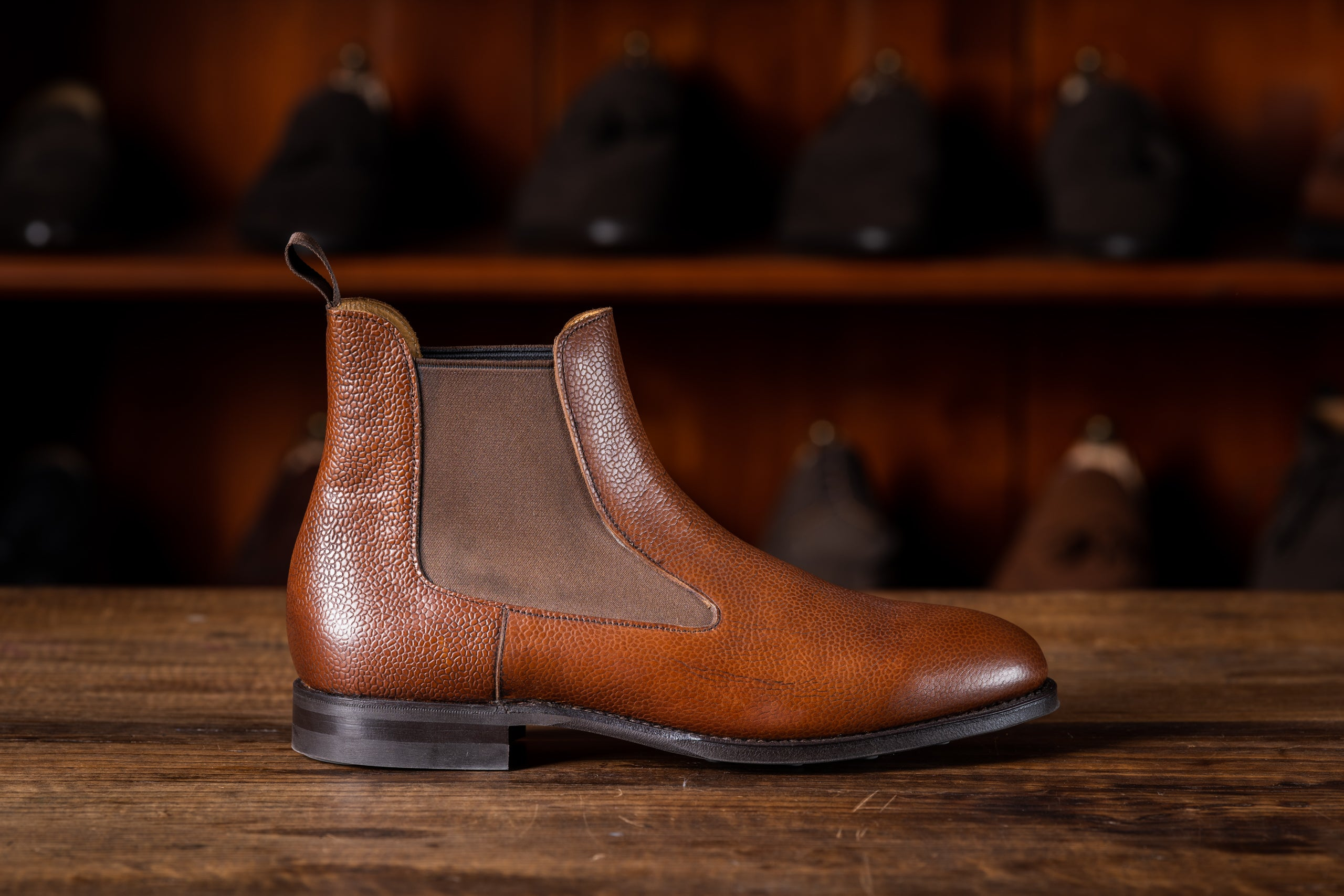 Chelsea Boot // Country Calf // Chestnut // Dainite Sohle