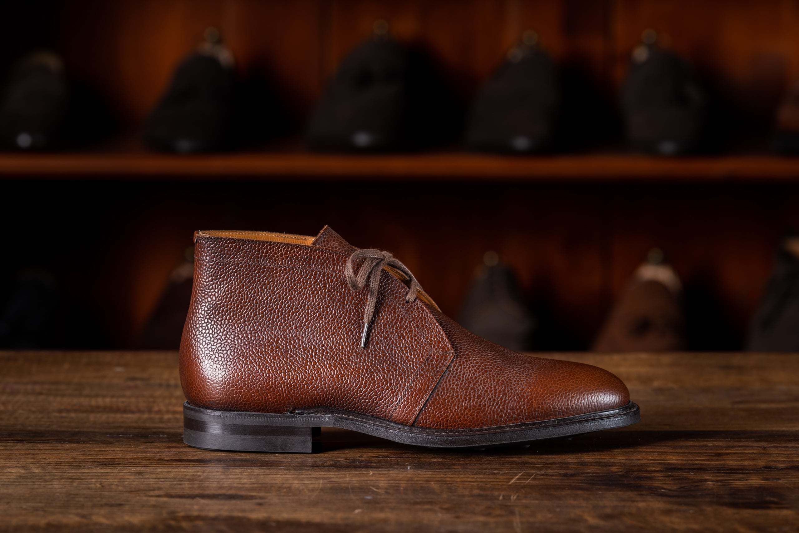 Chukka Boot // Country Calf // Chestnut // Dainite Sohle