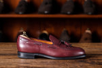 Laden Sie das Bild in den Galerie-Viewer, Tassel Loafer // Boxcalf // Bordeaux // Rendenbach Ledersohle