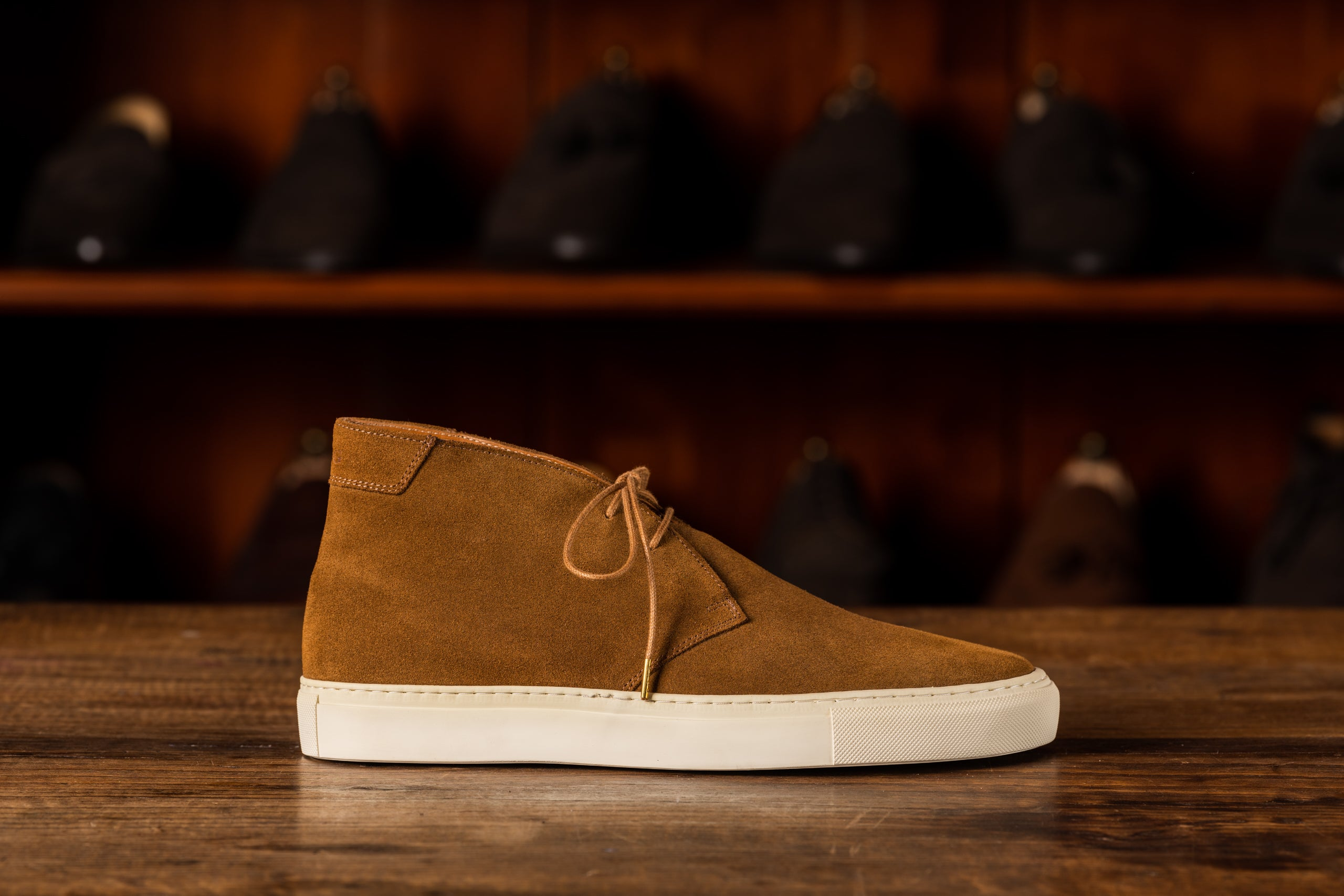 Sneaker // Chukka // Suede // Tabacco