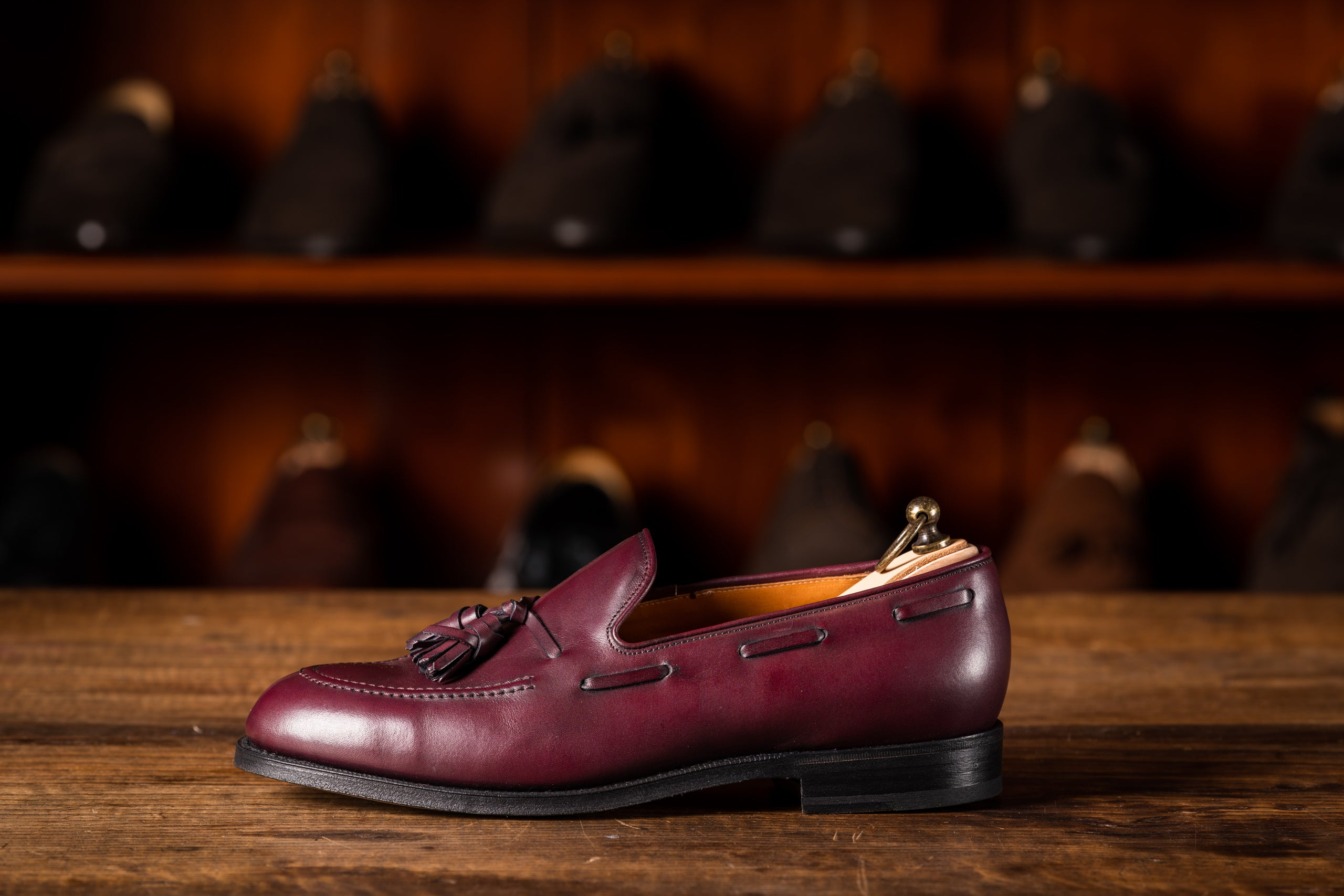 Tassel Loafer // Boxcalf // Bordeaux // Rendenbach Ledersohle