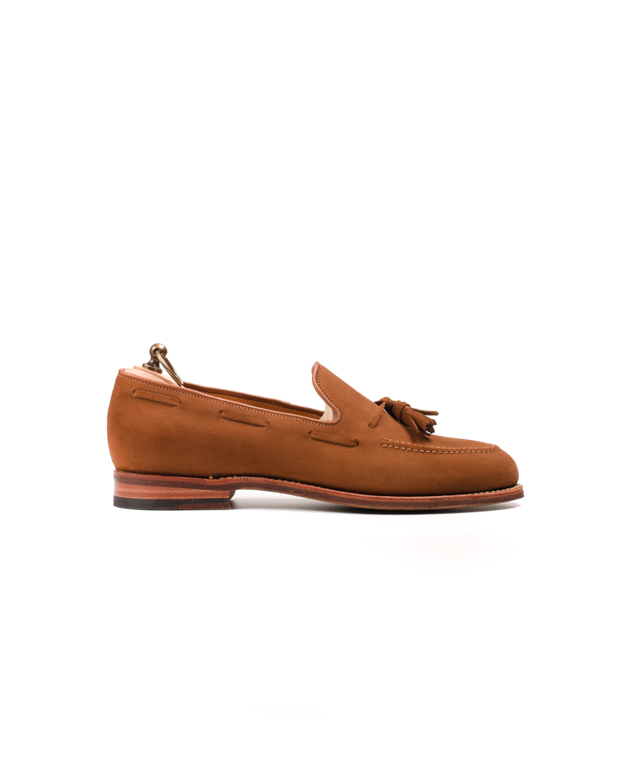 Tassel Loafer // English Suede // Snuff // Rendenbach Ledersohle