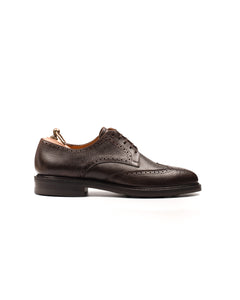 Derby // Full Brogue // Country Calf // Dunkelbraun // Dainite Sohle